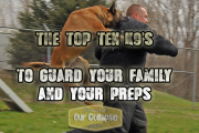Prepping with Guard Dogs & Attack Dogs – Top 10 K9 choices