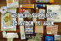 Medical supplies to stock up on