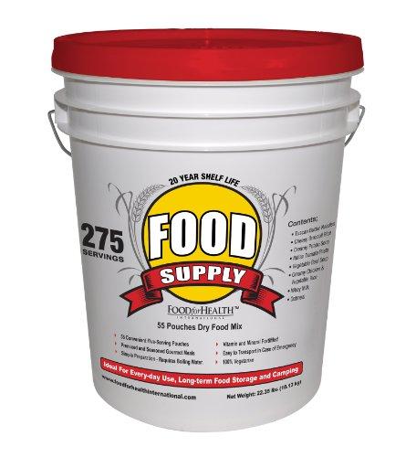 Survival food taste test zinc